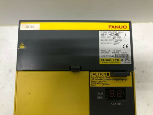 Fanuc A06b-6111-h037#550 Spindle Drive Fully Refurbished!!! Exchange Only