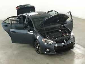 2014 Toyota Corolla S Tech. GPS*Cuir*Toit*Camera Recul*