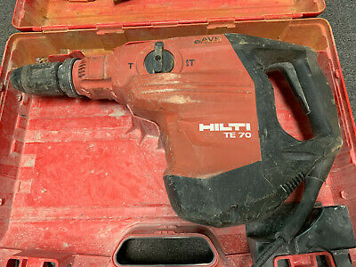 Hilti Te 70-avr Electric 120v Rotary Hammer In Casing Free Shipping