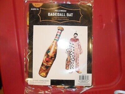New Inflatable Baseball Bat Clown Costume Halloween Accessory Decoration