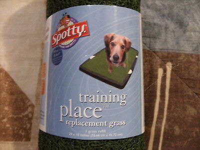 Spotty Indoor Dog Potty Replacement Grass Training Pad 29 x 18 inches - NEW