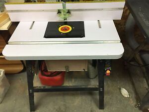 Router table, fence and stand. $125