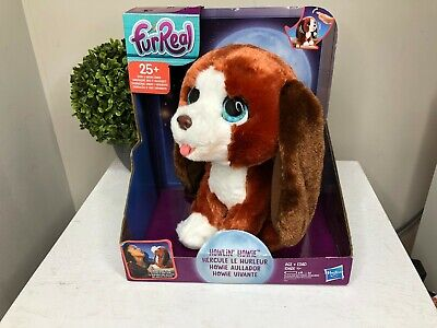 FurReal Howlin' Howie Interactive Plush Pet Howling Dog 25+ Sounds Motion Age 4+