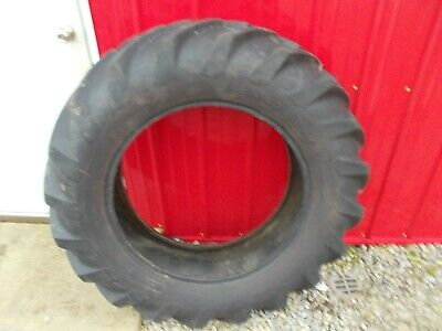 Good Year 12 X 28 Super Sure Grip 55 Tread Rear Tractor Tire Ac Allis Wd Wc