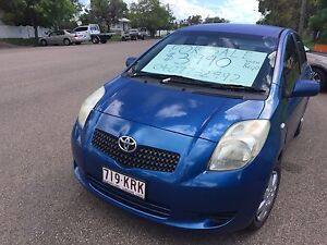 RELIABLE TOYOTA YARIS 5 DOOR HATCH - NEW BATTERY & RWC Railway Estate Townsville City Preview