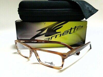 New Authentic ARNETTE RHYTHM 7065 1133 Havana 53/16/140 (Arnette Eyeglasses)