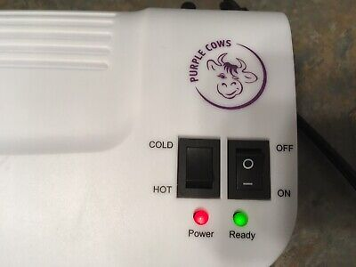Purple Cows 9 Inch Hot And Cold Paper Laminator - Model 3016c - Tested