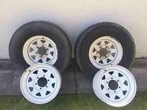 4WD rims and tyres Bar Beach Newcastle Area Preview