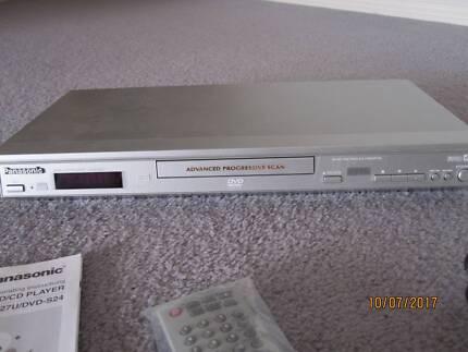 PANASONIC DVD/CD PLAYER MODEL DVD-S27