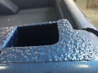 Painting ROCK GUARD protection trucks,wheel arches & More