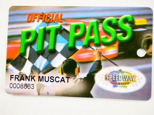 Speedway Casino Las Vegas Players Club Card