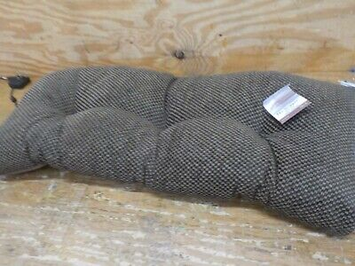 Klear Vu Rembrandt The Gripper Textured Bench Cushion, 36 x 14 x 3 inches, Dark