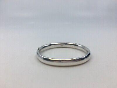 tiffany co sterling silver bangle bracelet