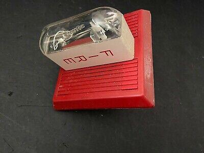 Wheelock Mt-24-lsm Fire Alarm Multi-tone Hornstrobe Wall Red