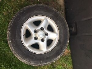 """4 x 16"""" TIRES AND RIMS P245/70R16"""