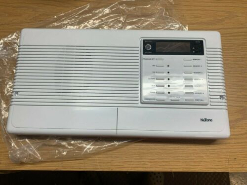 (New) Replacement faceplate for IMA-3303 and IM-3303 Nutone intercom. White