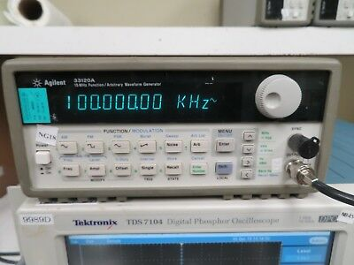 Agilent 33120a 15 Mhz Function Arbitrary Waveform Generator Ng18