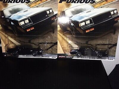HOT WHEELS 2020 FAST & FURIOUS MOTOR CITY,  '87 BUICK GRAND NATIONAL GNX LOT 2