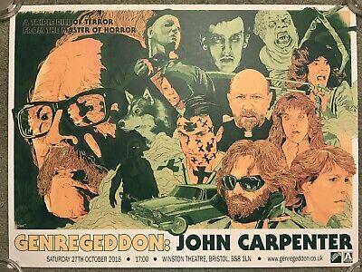 John Carpenter The Thing Fog Christine Halloween Ben Turner Print Poster Mondo](The Thing Halloween)