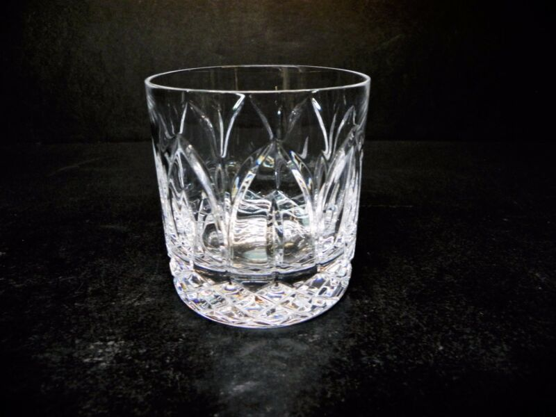 Atlantis Cut Crystal Chartres Old Fashion - Mint
