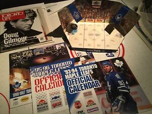 Large assortment of Toronto Maple Leafs memorabilia