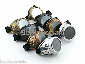 Cyber-GOGGLES-steampunk-Welding-Goth-Vintage-GOGGLES-Rustic-Ezreal-Cosplay