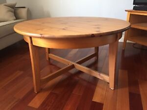 """Coffee table 22""""H 41""""D"""