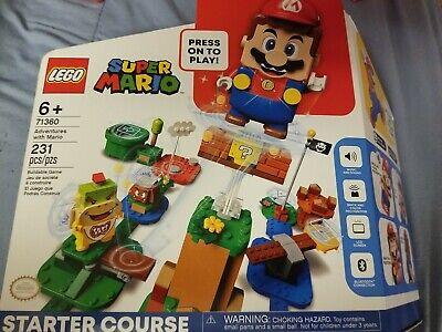 LEGO Adventures with Mario Starter Course Super Mario (71360) NEW IN BOX