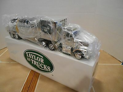 Taylor made Trucks,5th Anniversary chrome race car hauler with 1969 Corvette,NIB for sale  Shipping to Canada