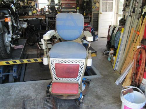 Antique Barber Chair Emil J. Paidar - Chicago USA