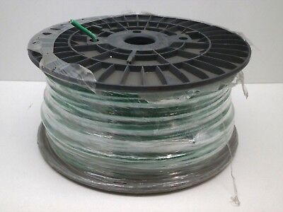 500ft Roll Cme 8 8awg Str Stranded Machine Tool Wire Thwn-2 Or Thhn - Green