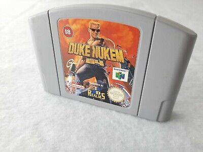 Duke Nukem 64 N64 Genuine PAL Tested AUS (game only)