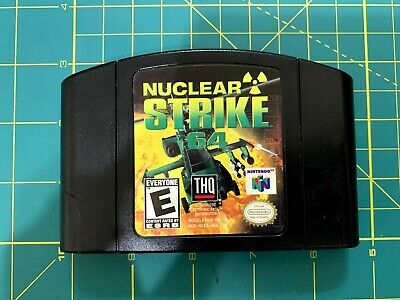 Nuclear Strike 64 (Nintendo 64, 1999)_Out of box_Working