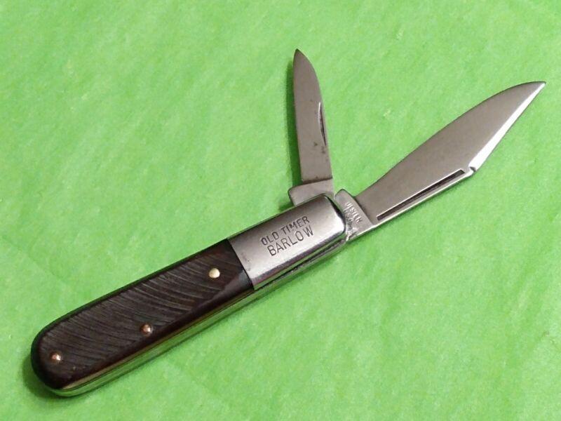VINTAGE ULSTER USA 10OT OLD TIMER BARLOW 2 BLADE KNIFE - EXCELLENT CONDITION