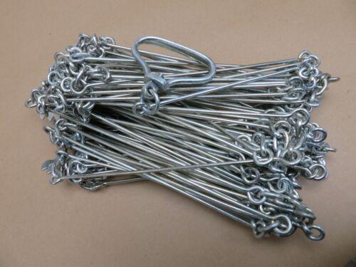 Vintage Rabone Chesterman 100Ft JC Land Measuring Chain