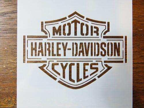 Harley Davidson Custom Stencil Fast Free Shipping