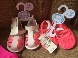 New sandals 3 to 6 months