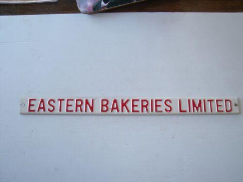 VINTAGE EASTERN BAKERIES LIMITED ENAMEL BREAD SIGN