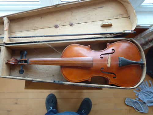 1940 P.S Gosselin spotted Maple Hand made Violin ...awesome!!