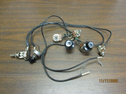 Vintage Guild Wiring Harness for Starfire and other 2-pickup Models!
