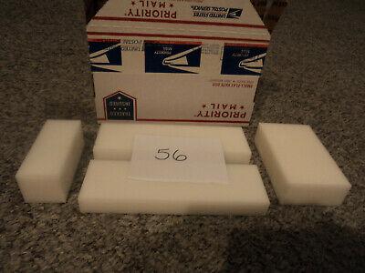 White Plastic Delrin Acetal Sheetblock Lot 4 Pieces Cnc Mill 56