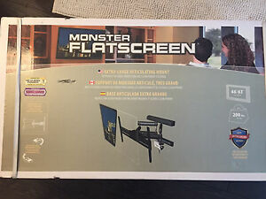 Monster Flatscreen TV Mount     46 - 63""