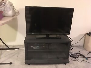 Television with Stand