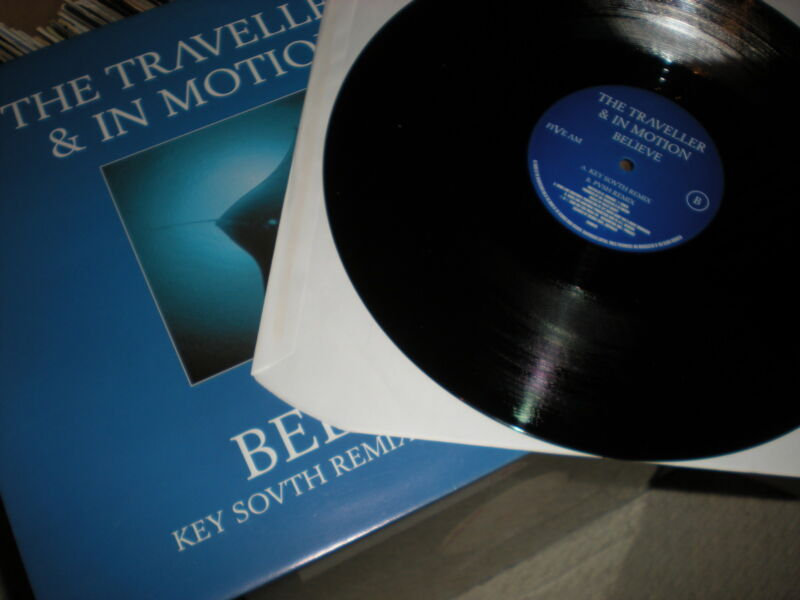 The Traveller & In Motion Believe VINYL Key South and Push remixes
