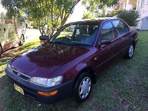 1998 Toyota Corolla Bonnyrigg Heights Fairfield Area Preview