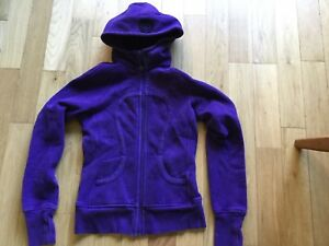 Lululemon scuba hoodie excellent used condition.