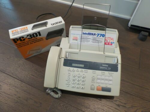 Brother Intellifax-770 Home/Office Plain Paper Fax Machine & PC-301 CARTRIDGE A1