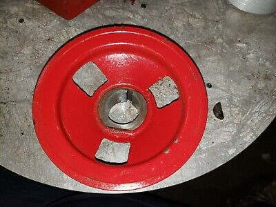Farmall F20 Tractor Engine Crankshaft Belt Pulley An Key Ihc Nice Part