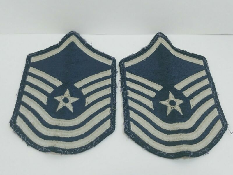 U.S .Air Force chevrons Military Patch Obselete Army badge Insignia Wing str pol