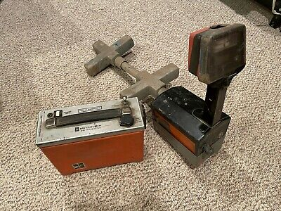 Metrotech 810 Cable Locator Receiver Transmitter Powers On As Is Read 1